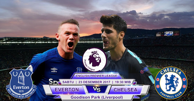 Everton vs Chelsea 23 Desember 2017