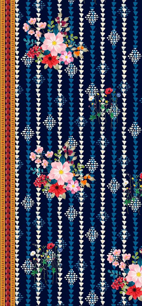 Textile Design Vector Art Design