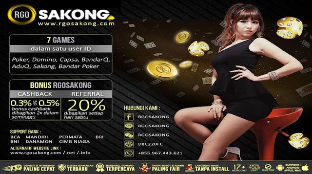 RGOSAKONG Agen Remi9 Judi Sakong Bandar Poker Online Indonesia