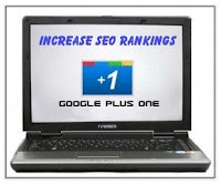 Google Plus One increase rankings