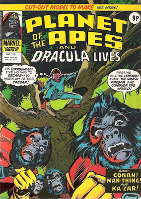 Marvel UK, Planet of the Apes #119, Battle