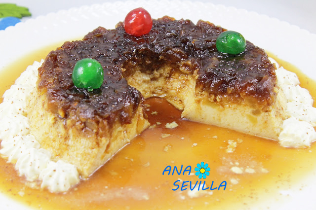 Flan de huevo y manzana caramelizada Ana Sevilla con Thermomix