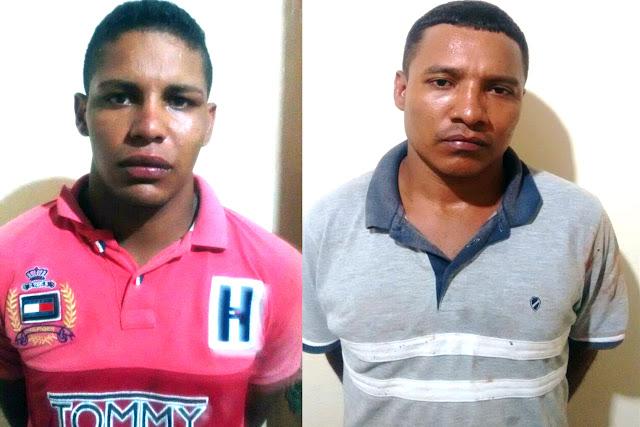 SUSPEITOS DE SEREM FUGITIVOS DA PENITENCIÁRIA DE PEDRINHAS SÃO DETIDOS NA CIDADE DE PAULO RAMOS PELA POLÍCIA MILITAR.