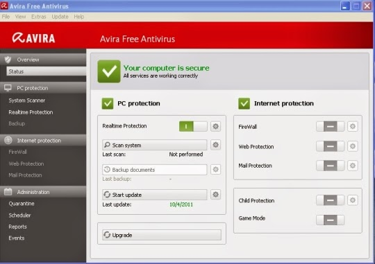 تحميل برنامج افيرا 2015 برابط مباشر كامل عربى مجانا Download Avira Free AntiVirus
