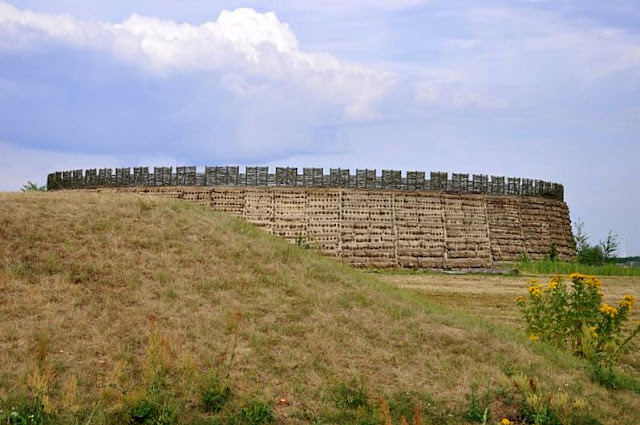 Slawenburg Raddusch, rekonstrukcja słowiańskiego grodu