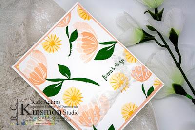 Bloom by Bloom Stamp Set, #simplestamping, Rick Adkins, Floral Card