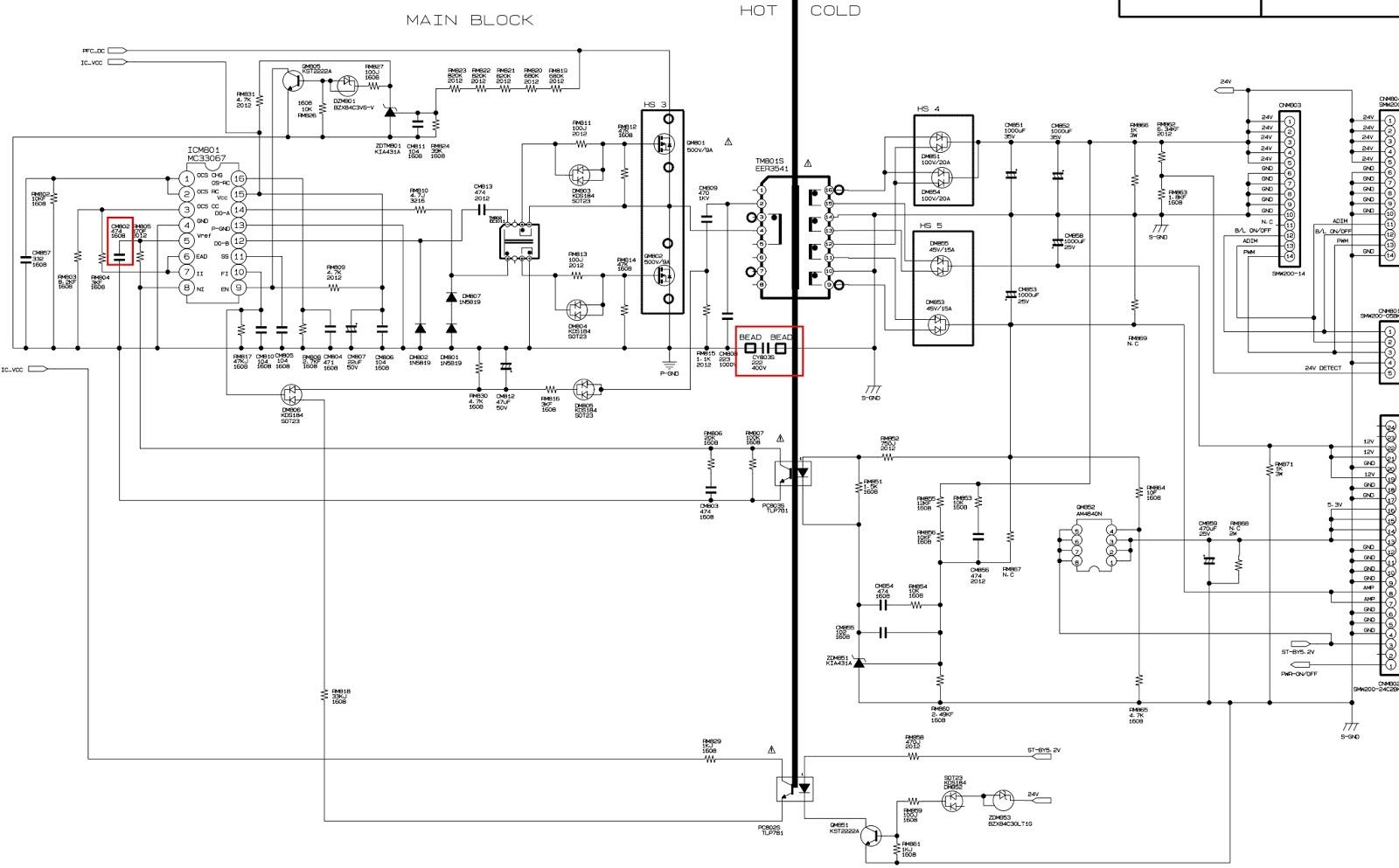 Electro Help  Bn44-00216a - Samsung Le32b530p7n  U2013 Le37a552p3r