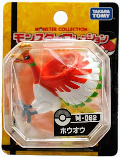Ho-Oh figure Takara Tomy Monster Collection M series