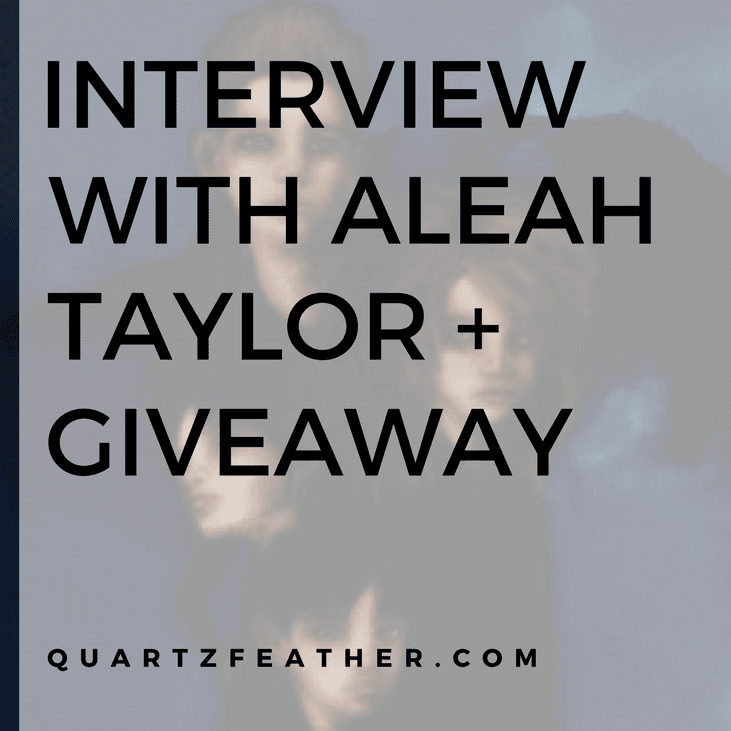 Interview with Aleah Taylor and Giveaway