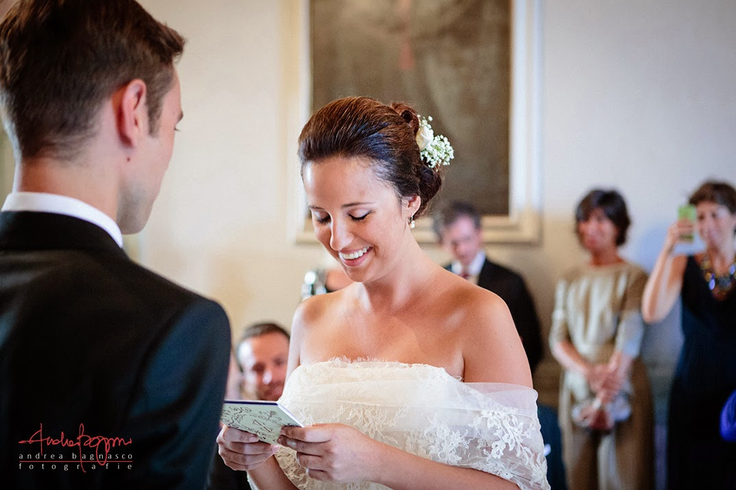 wedding vows in villa durazzo santa margherita