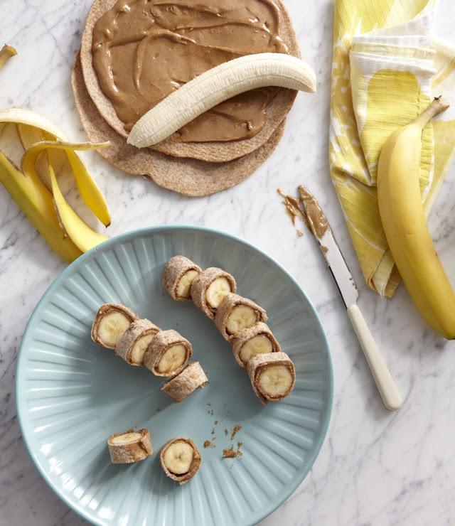 Μια γλυκειά συνταγή. Μπουκιές μπανάνας...!