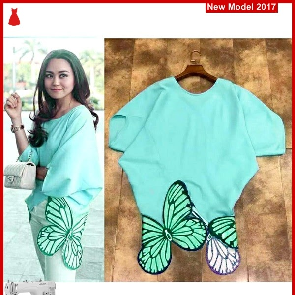 MSF0018 Model Top Jumbo Murah Crepe Butterfly BMG