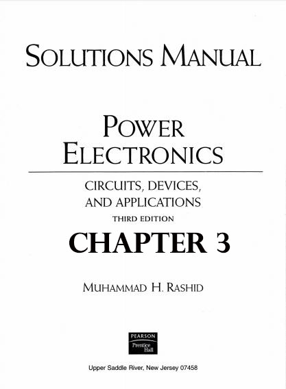 pdf solution manual chapter 3 power electronics circuit devices rh justeenotes blogspot com Engineering Manual Meme Engineering Design Manual
