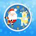Santa Claus and Reindeer Screensaver