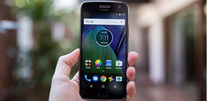 Hape dual kamera - Motorola Moto G5s Plus