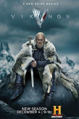 Um novo reinado começa, na nova temporada de Vikings. (Fonte: History/Divulgação)