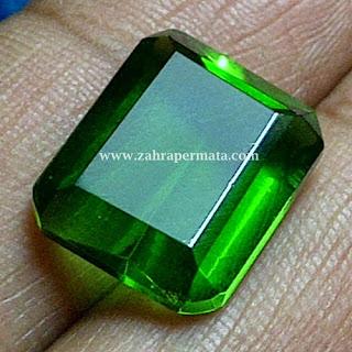 Batu Permata Green Tektite - ZP 256