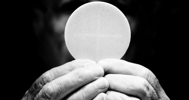 The Hidden Eucharist in the Our Father