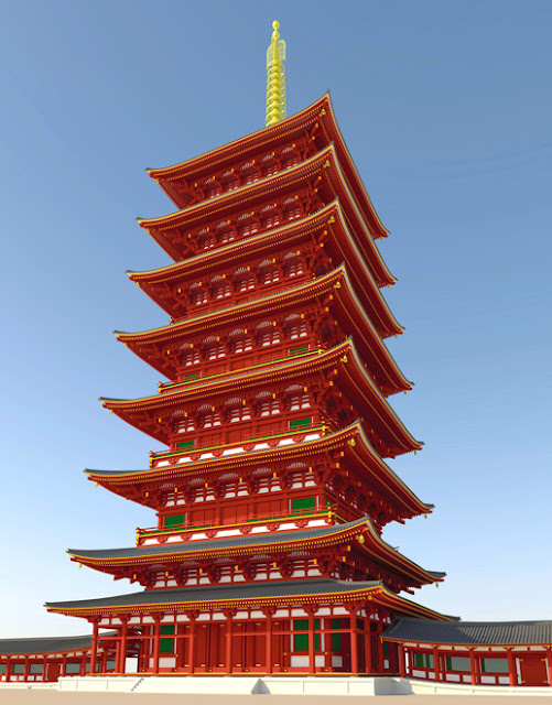 Possible fragment from tallest pagoda ever built in Japan found