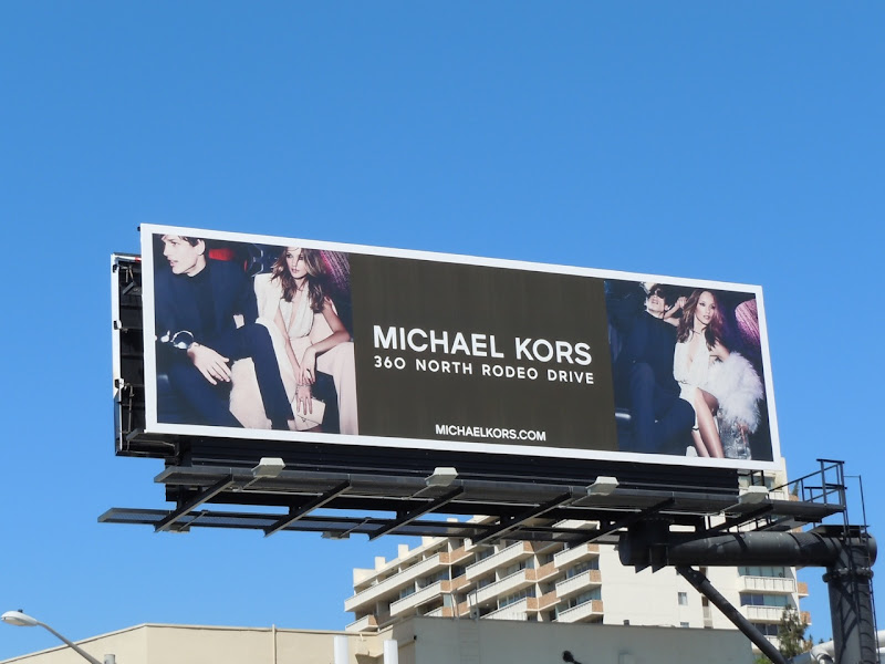 Michael Kors fashion 2011 billboard