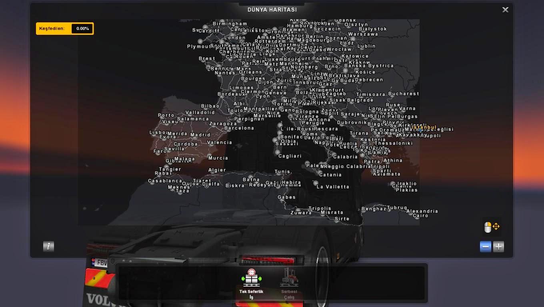 mods euro truck simulator 2 mapa portugal e espanha Mapa   Europa e África V.10.2 Para V.1.16.X By: Mario Bogdanov  mods euro truck simulator 2 mapa portugal e espanha