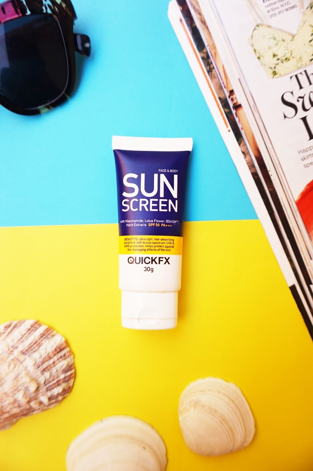 quickfx sunscreen