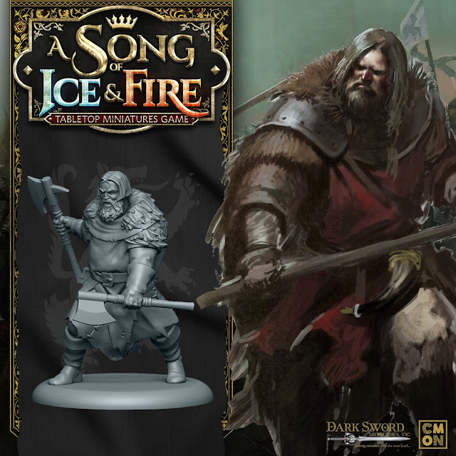 Cool Mini or Not: New Song of Ice and Fire - Stark Umber Berserkers