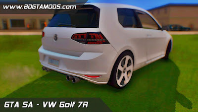 VW GOLF 7R Stock para GTA San Andreas , GTA SA