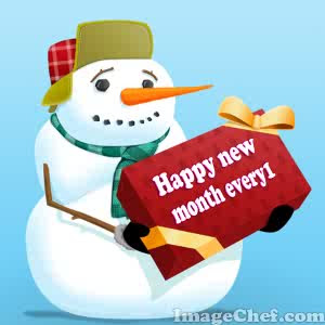 Happy New Month Friends 1