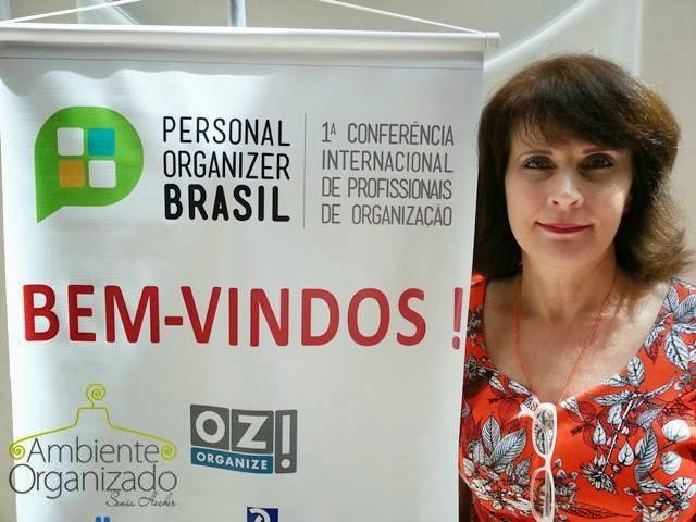 Ambiente Organizado - Sonia Hecher no Personal Organizer Brasil