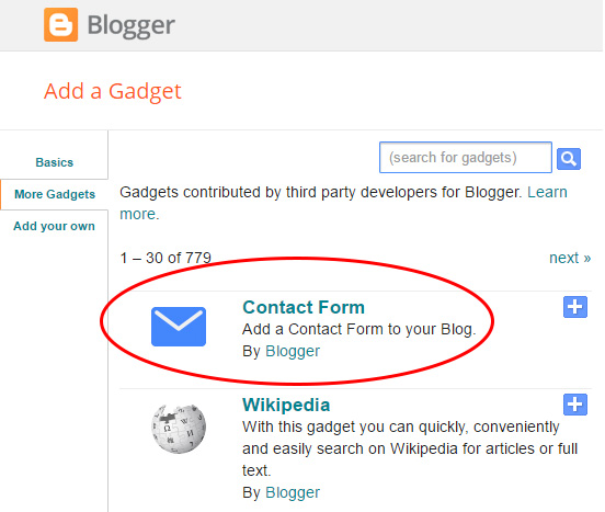 How to Add Blogger Contact Form for Blogger Easily | Blogger Tips ...