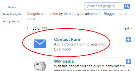 How to Add Blogger Contact Form for Blogger Easily