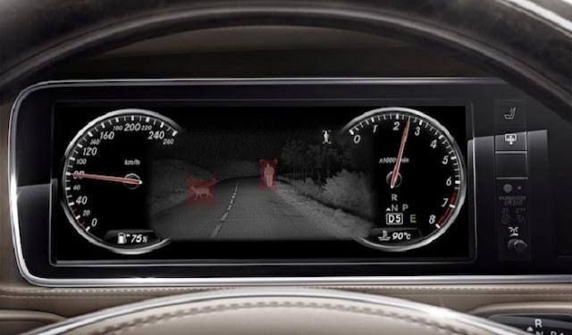 Mercedes S450 L Luxury 2018 được trang bị Hệ thống hỗ trợ quan sát ban đêm Night View Assist Plus