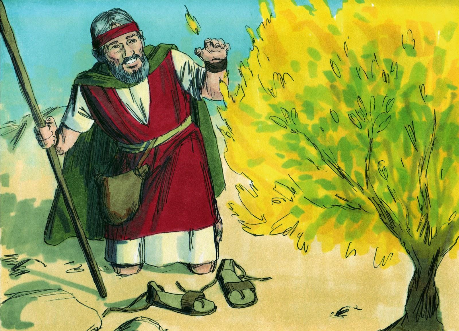 Bible Fun For Kids 2 2 Moses Amp The Burning Bush