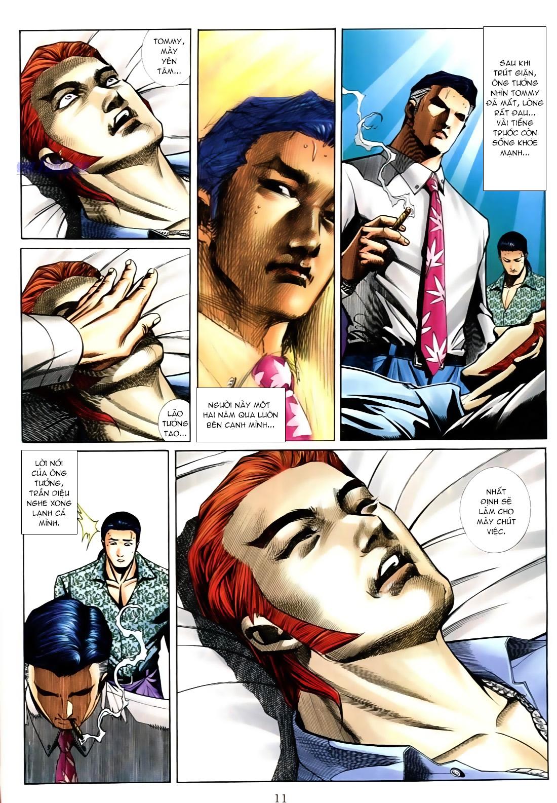 Người Trong Giang Hồ chapter 556: làm khó nam đẹp trai trang 5