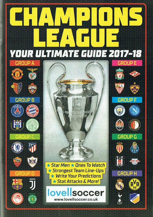Match! magazine - Champions League Your Ultimate Guide 2017-18 2017-18 Champions League Your Ultimate...
