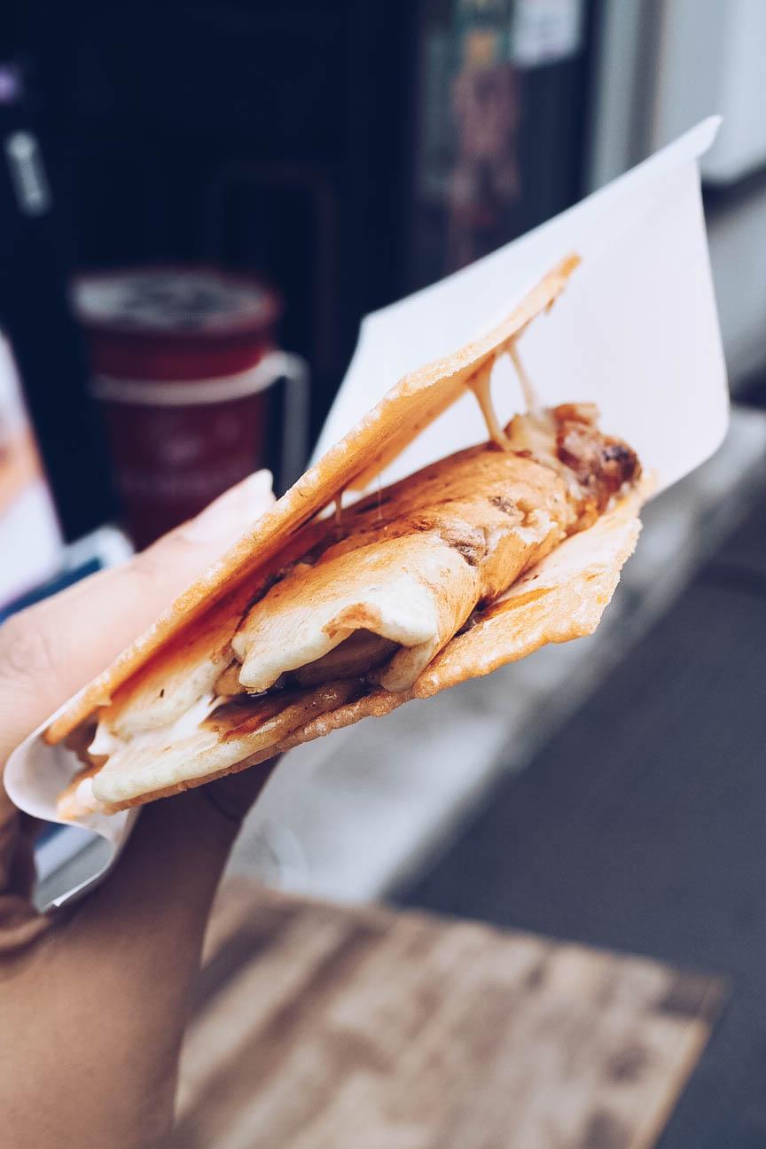 Ikayaki pancake