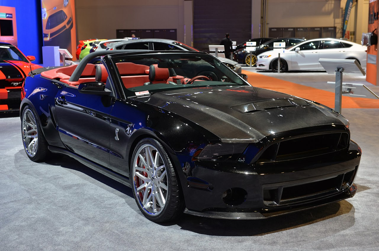 sema 2013 ice nine 2014 shelby gt500 convertible mustang news. Black Bedroom Furniture Sets. Home Design Ideas