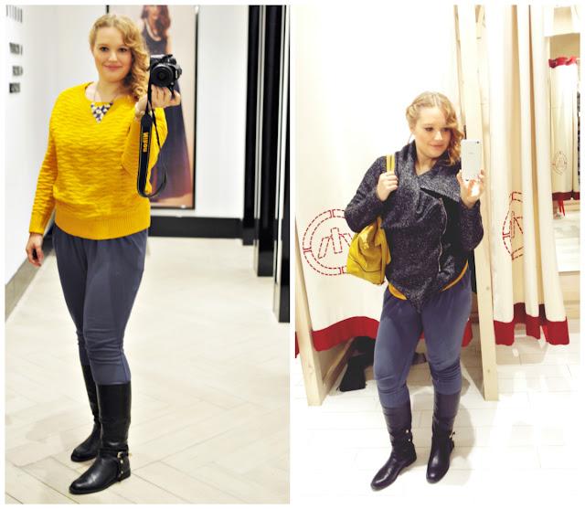 żółty-sweter