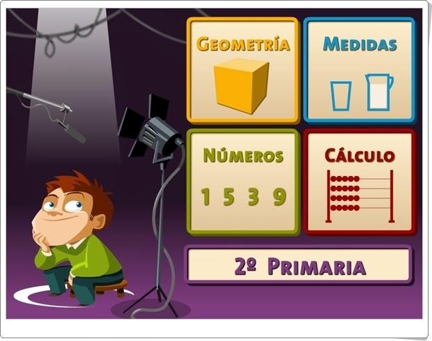 """""""Juegos, Números… ¡Acción!"""". 2º de Primaria."""