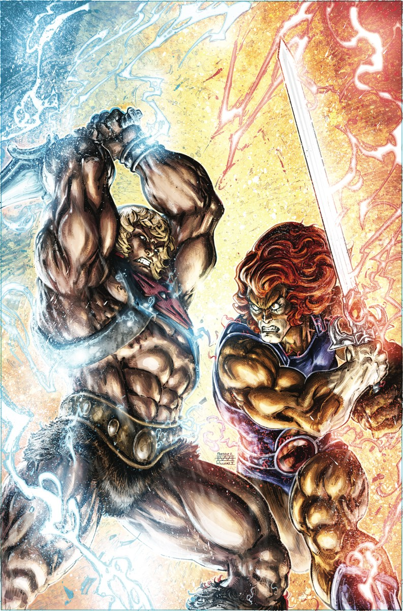 Image result for he-man thundercats issue 4
