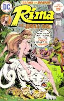 Rima the Jungle Girl v1 #6 dc bronze age comic book cover art by Joe Kubert