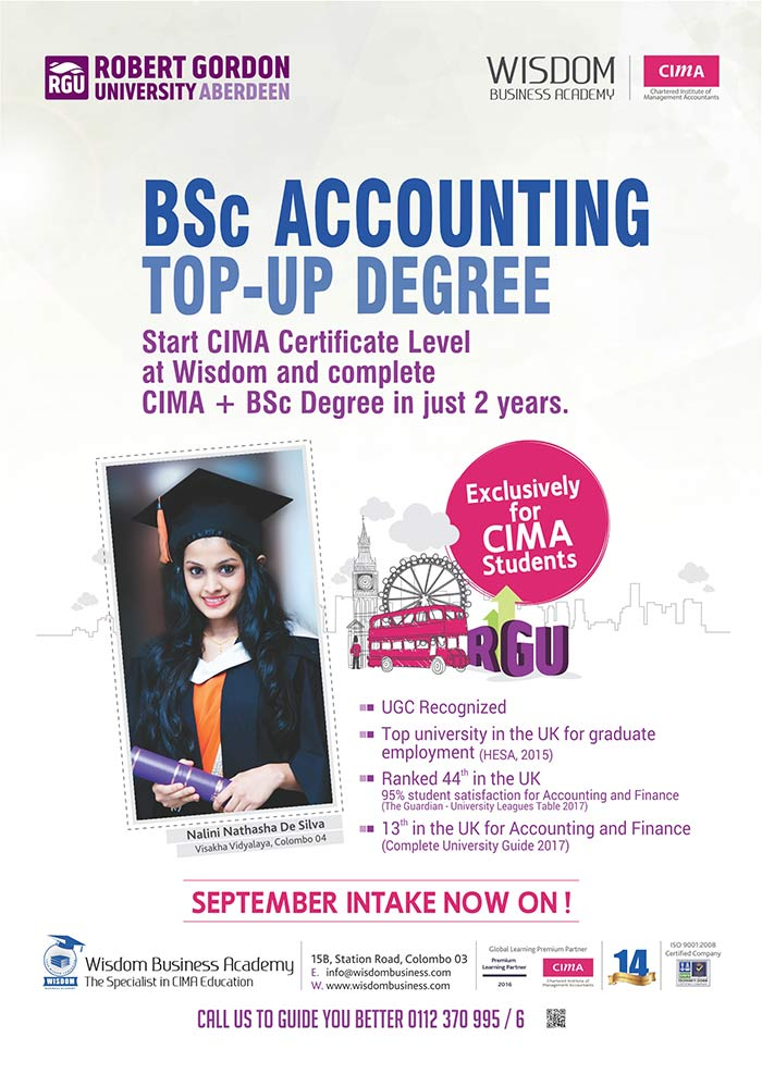Complete CIMA +BSc Degree in just 2 years!