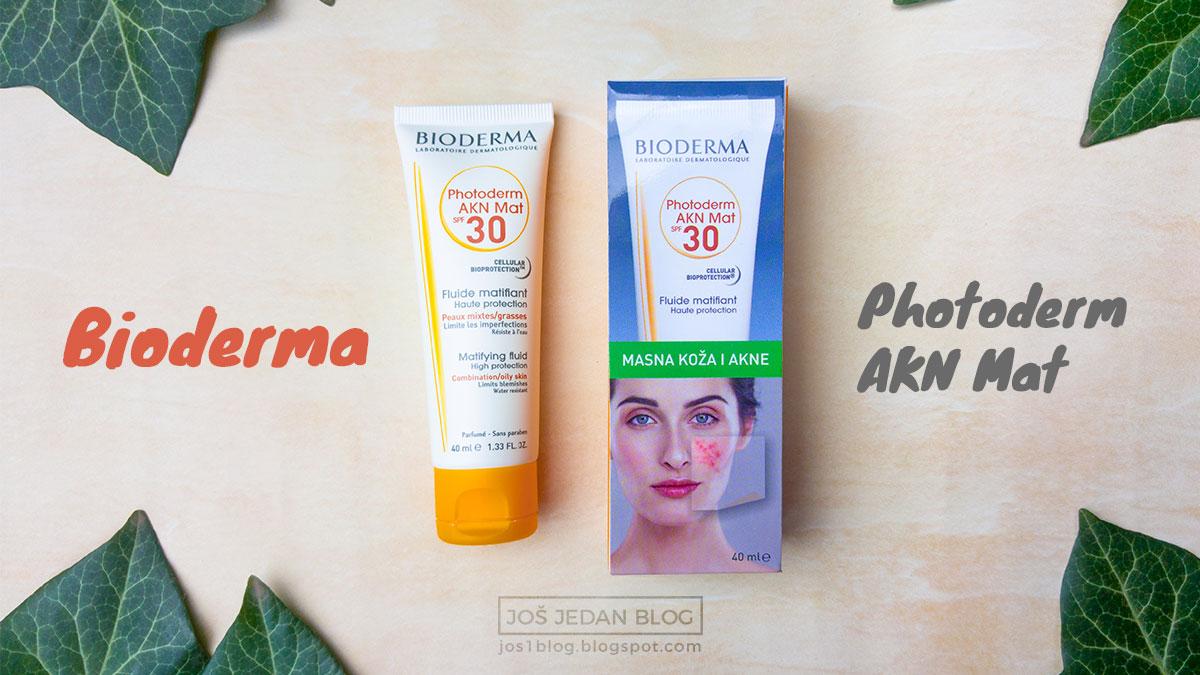 Bioderma Photoderm AKN Mat fluid SPF 30 recenzija, utisci, misljenje, krema za suncanje, krema za lice