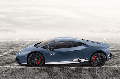 Lamborghini Huracan Avio special edition side view HD Wallpaper