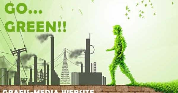 50 Contoh Poster Slogan Lingkungan Hidup Go Green Grafis Media
