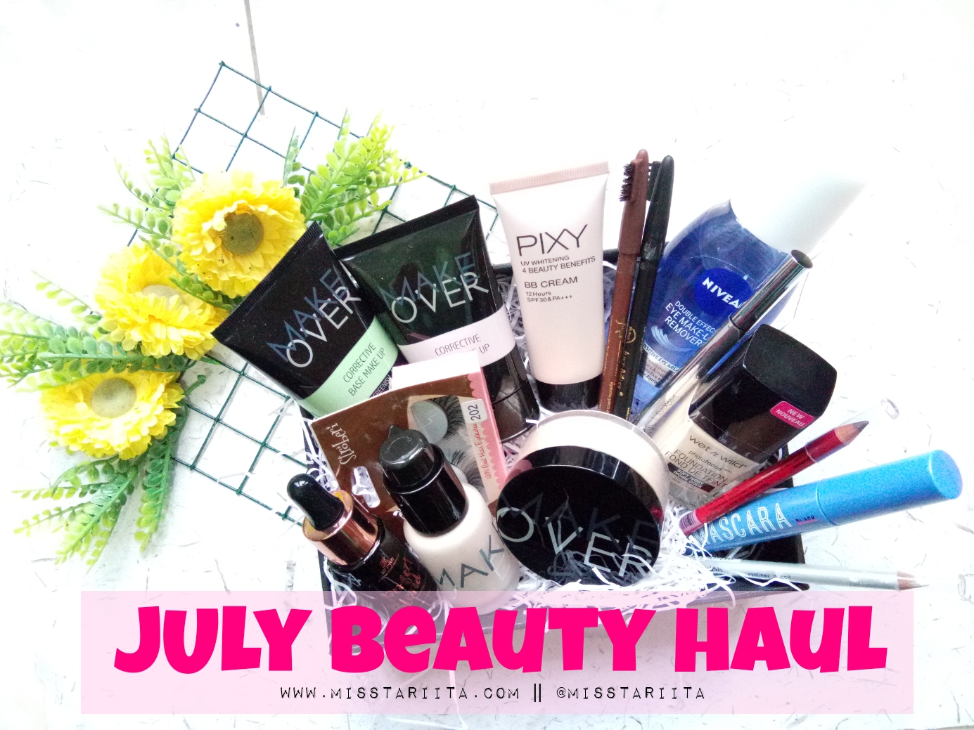 Haul July Beauty Berburu Base Make Up Sampai Eye Corrective Hei Beauties