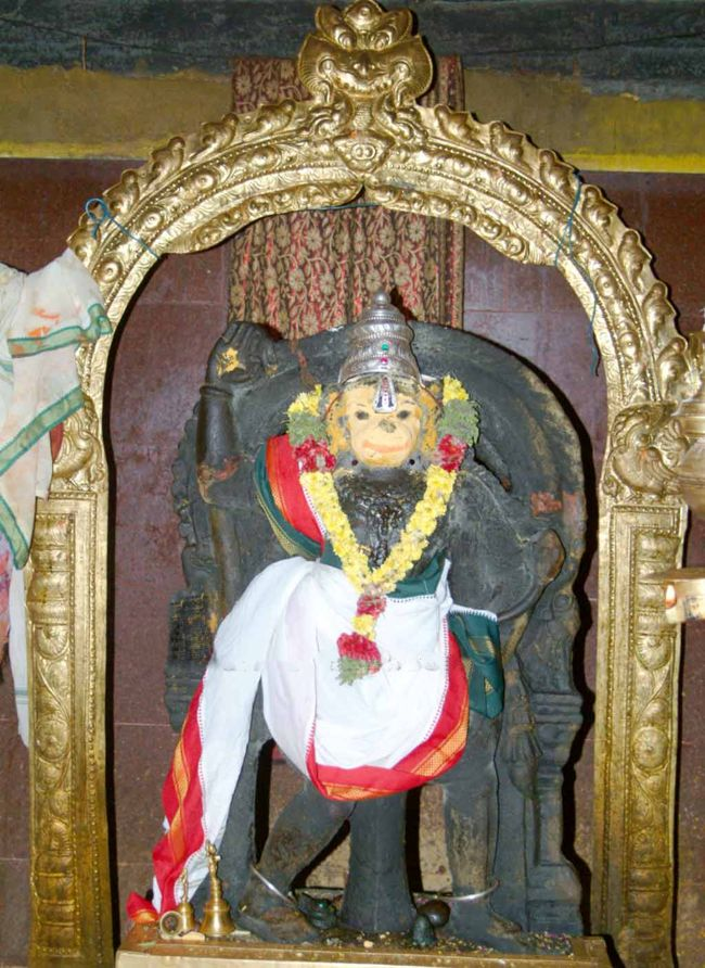 Main Deity Of Sri Abhayavaradha Anjaneya Temple