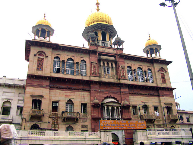 Historical Gurudwara Sikh Temple Sisganj Sahib Chandni Chowk Delhi Wallpaper Photo & Pics