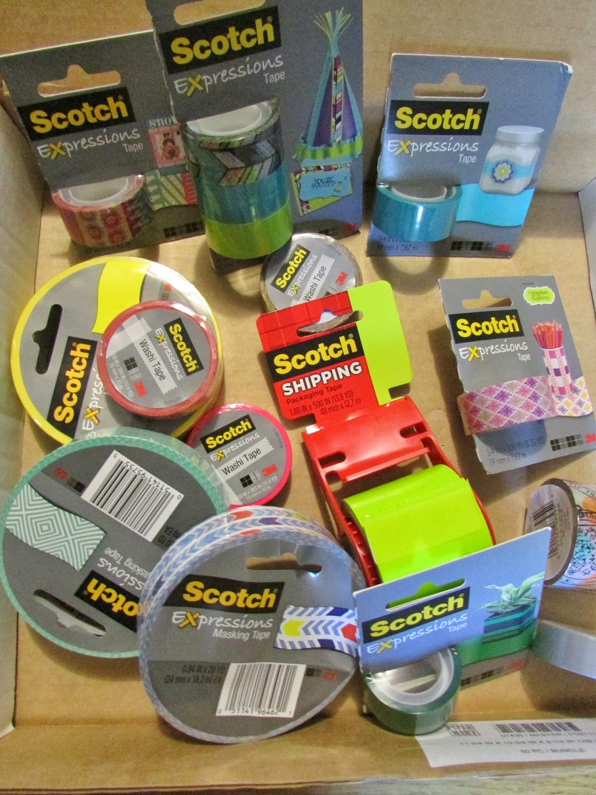 Heck Of A Bunch: Scotch Expressions Tape - Review and Giveaway